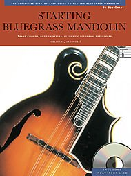 Starting Bluegrass Mandolin Book With CD