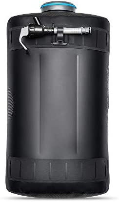Hydrapak Expedition – Collapsible BPA PVC Free Water Storage Bag 8L 270oz – Chasm Black