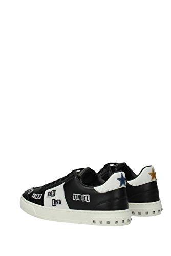 Valentino Sneakers Mænd - Læder (0s0a08wvk) Eu Sort hH55rUVM