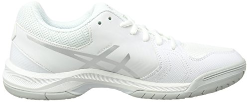 Asics Women's Gel-Dedicate 5 Gymnastics Shoes Off White (White/Silver) PDvVsTt4x