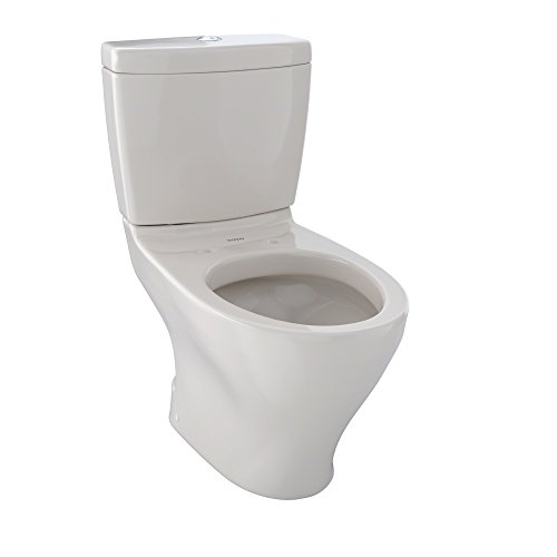 TOTO CST416M#12 Aquia II 2-Piece Toilet with Regular Height Bowl and Dual Max Tank, Sedona Beige