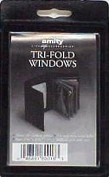 amazon com amity wallet insert trifold 10 windows 6 pack health