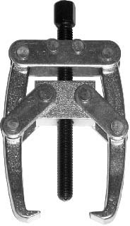 T & E Tools 1 Ton 2 Jaw Puller- For Working on Small Bearings, Gears and Bushes