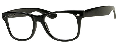 Black Style Clear Black Sunglasses Big - Framed Sunglasses Big