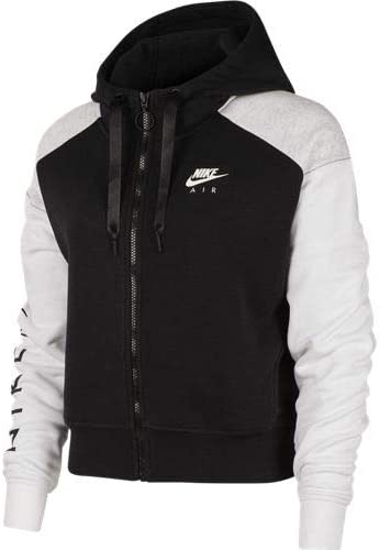 Amazon.com: Nike NSW Air Hoodie Full Zip Bb Mujeres Bv4771 ...