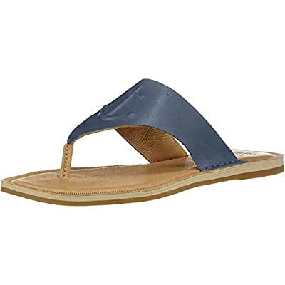 Sperry Women's Seaport Thong Leather Sandal | Flip-Flops