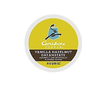 Caribou Coffee, Vanilla Hazelnut Dreamstate K-Cups (24 Count)