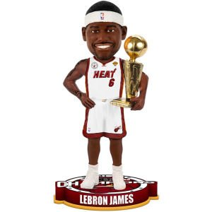 Lebron James Miami Heat 2013 NBA Champions Trophy Bobble Head by Forever Collectibles