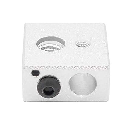 MK7/MK8 - Bloque de calefacción para Impresora 3D Makerbot: Amazon ...