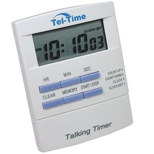 - Talking Timer with Clock