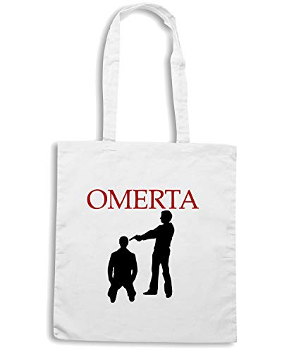 Borsa Shopper Bianca OLDENG00206 OMERTA ASH