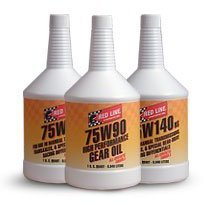 Red Line 58304 (75W90) Limited Slip Synthetic Gear Oil - 1 Quart Bottle