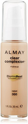 Almay Clear Complexion Makeup, Naked  1 oz