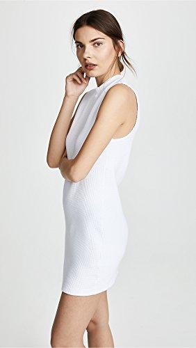 Coton Citoyen Blanc Mini Robe Des Femmes Monaco