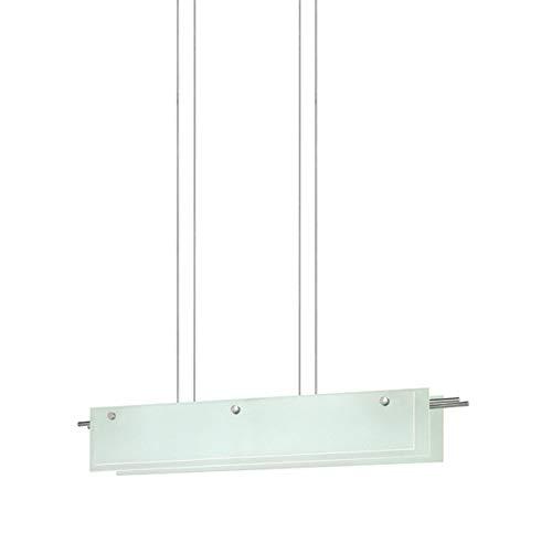 13 Sonneman Suspended Glass - Sonneman 3218-13LED LED Pendant, Silver