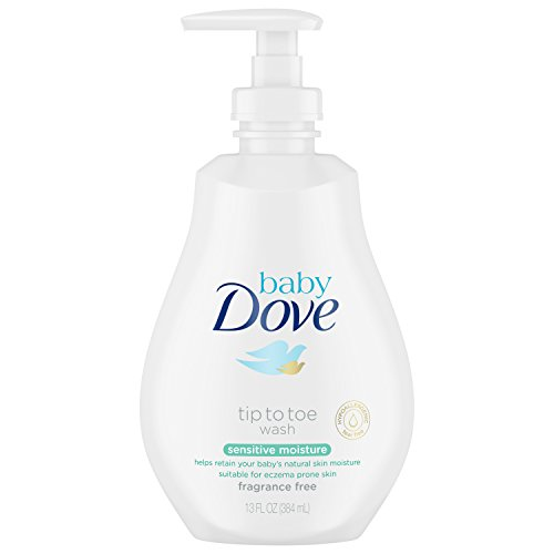Baby Dove Wash, Sensitive Moisture, 13 oz (Best Ide For Groovy)