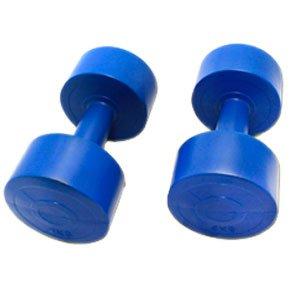 Mancuernas mancuernas 4 kg/azul: Amazon.es: Deportes y aire libre