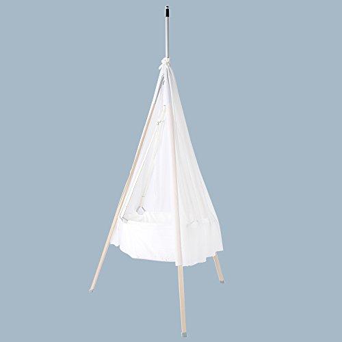 Leander リエンダー Canopy for cradle ゆりかご用キャノピー White ホワイト 104361 赤ちゃん 寝具 リエンダー