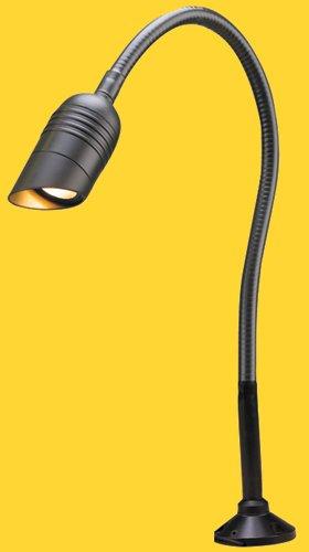"""Corona CL-802-D-BK-24 -Low Vol/ 12V Flexible BBQ Deck Light Aluminum Mini Bullet 24"""" Flex Arm, black"""