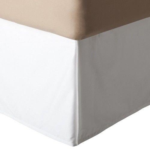 Threshold Ivory Wrinkle-Resistant Bed Skirt