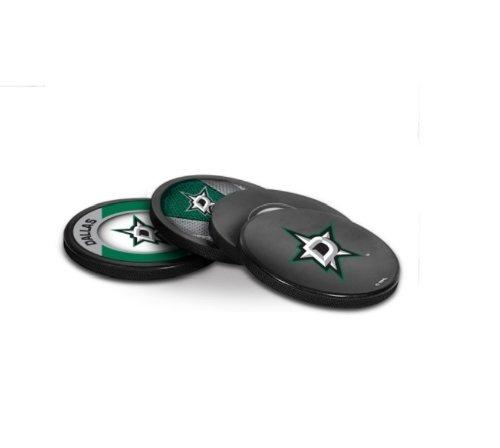 Inglasco NHL Dallas Stars Puck Coasters Pack