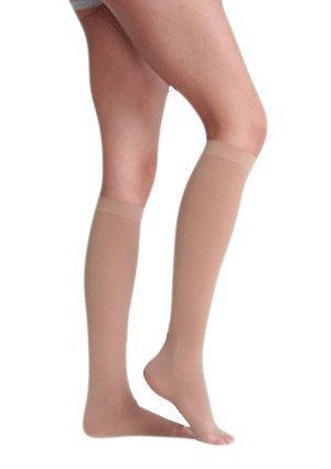 Juzo 2002 OT Short Knee High Stocking-Silicone Border-Size II-BGE by Juzo