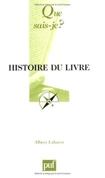 Histoire du livre par Labarre