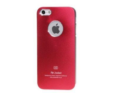 Monkey Cases® iPhone SE / 5 / 5s - ALU Case - Rot - Handyhülle