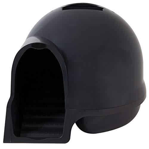 Petmate Dome - Booda Clean Step Litter Box in Dark Grey, Standard