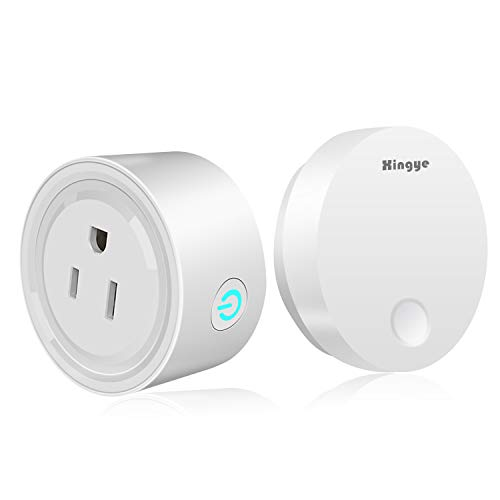 Wireless Remote Socket Switch,Self-powered RF Smart Plug Remote Control ON/OFF Lights Kit,Garbage Disposalr Outlet Waterproof Household Appliances,150ft Range,No Battery No Wires (Outlet Battery Operated Ac)