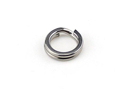 Split Rings Kit Stainless Steel Flat Connector For Lures Fishing Hooks