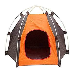 NALEDI Pet Tents Portable Folding Anti-Ultraviolet Rainproof Waterproof Durable Dogs Cats Bed Pet Houses Travel Camping