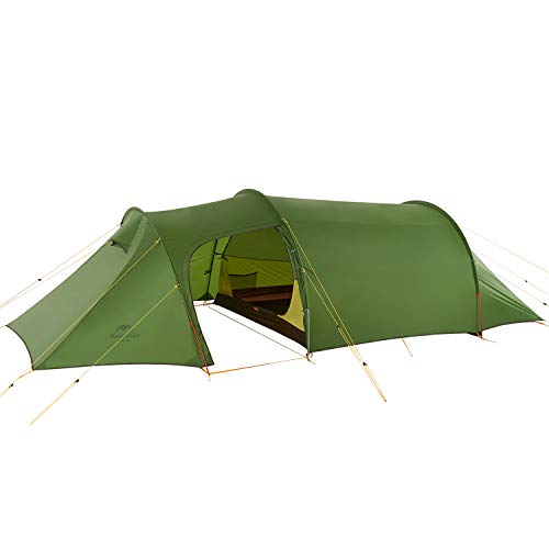 Naturehike Opalus Lightweight Camping Tent 4 Season Backpacking Tent for 3 Person