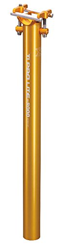 KCNC Ti Pro Lite seat post MTB 31.6 yellow by KCNC