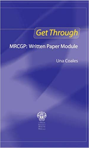Book Get Through MRCGP: Written Paper Module by Coales Una F (2005-05-05)