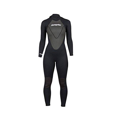 Hyperflex Wetsuits Women's Access 3/2mm Full Suit - (Black, - Womens Full Wetsuit