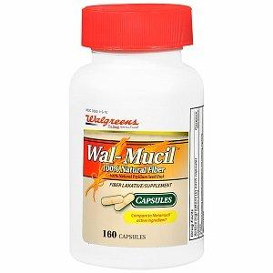 Walgreens Wal-Mucil Fiber Laxative/Supplement Capsules 160 ea (Mucil Walgreens Wal Fiber)