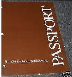 1998 honda passport electrical troubleshooting wiring diagram Honda Passport ECM Wiring Diagram