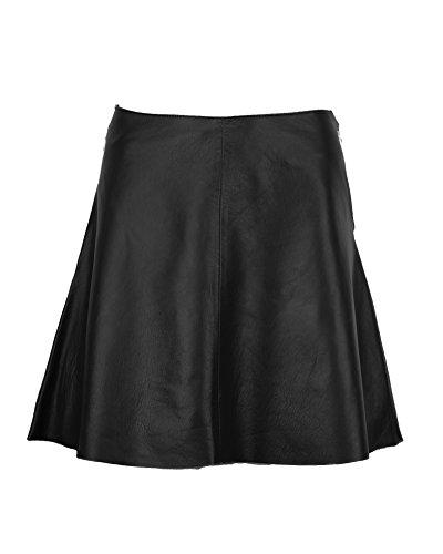 DX Elegant Women's Leather Skirt, A-Line Skirt KSP-0003