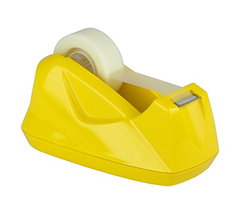 Acrimet Premium Tape Dispenser (Yellow Color) by Acrimet