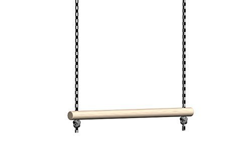 Trapeze Bar for Swing Set Without Rings (Bar Lenght Is 11 Inches Long) for Indoor and Outdoor Use, Exercise Toy for Kids by sportkid by sportkid