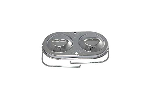 Pirate Mfg Chrome Master Cylinder Cover Steel Chevy Gm 3