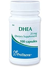 Prothera Dhea 25 Mg 100 Capsules with Pill Box