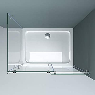 doporro Cabina de ducha de esquina Ravenna17-2, 80x115x195cm ...