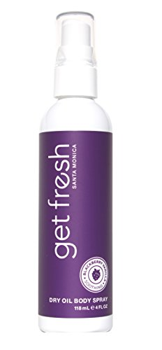 Get Fresh - Dry Oil Body Spray 4oz Blackberry