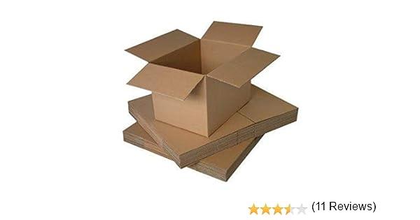 Packitsafe Cajas de cartón de canal simple, pequeñas, medianas y ...