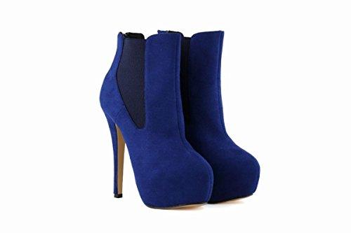 Inverno Rotonda Nike Suede Piattaforma Dunk Sky Shoes Stivali Nuove Delle Partito Nvxie Martin Tall 6 Testa Uomo Donne Lavoro 6 Eur Da Autunno eur39uk665 5 Boots uk Bassi Scarpe 39 Blue XxUwRnYTn