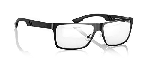 Finish Onyx Frame (Gunnar Optiks VIN-00103Z Vinyl Full Rim Color Enhanced Computer Glasses with Crystalline Lens for Graphic Designers, Onyx Frame Finish)