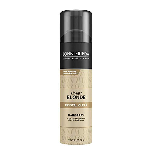 John Frieda Sheer Blonde Crystal Clear Hairspray, 8.5 Ounces ()