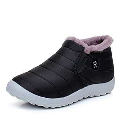 Amazon.com | JOYBI Women Waterproof Winter Boots Ladies